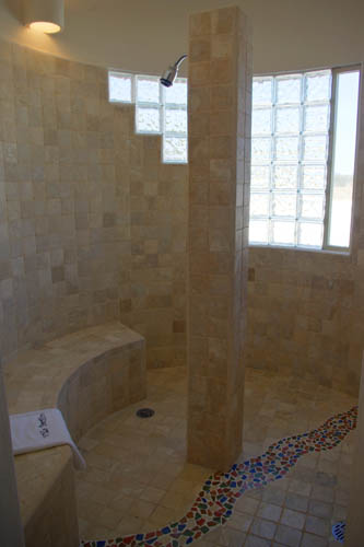 Large Private Shower